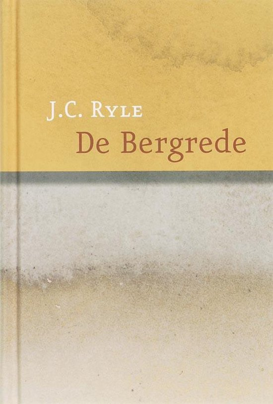 Boek cover De Bergrede van J.C. Ryle (Paperback)