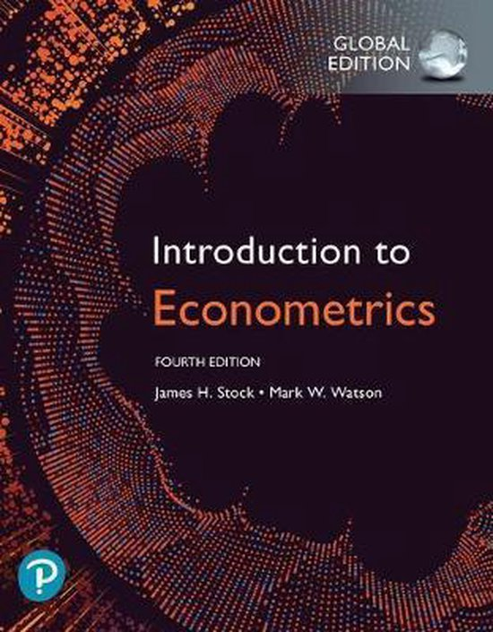 Boek cover Introduction to Econometrics, Global Edition van James Stock (Paperback)