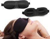 Zwarte Luxe Slaapmasker 3D - Nieuwste collectie