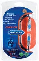 /1/Meter Bandridge BCL7501/Multimedia Cat6/Network Cable/