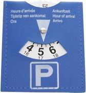 Blauwe  Parkeerschijf (2-stuks) - Parkeerkaart - Parkeren in de blauwe zone
