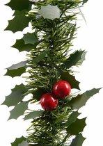 Guirlande hulst - Groen - 270 cm - Incl. hulstblaadjes en besjes