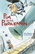 Boek cover Tijgerlezen  -   Pim en het pinda-kanon van Tjibbe Veldkamp (Hardcover)