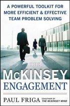 Boek cover The McKinsey Engagement van Paul Friga