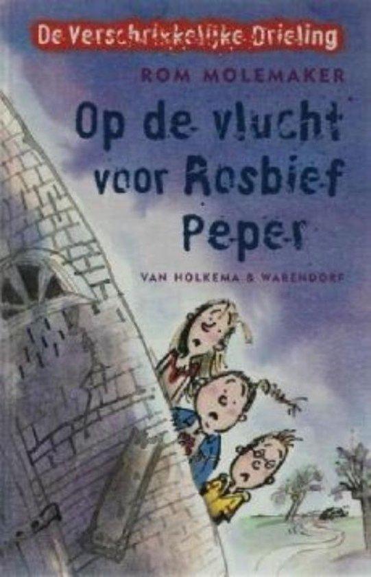 Op de vlucht voor Rosbief Peper - Rom Molemaker |