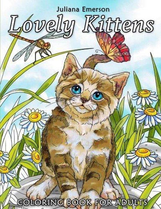 Afbeelding van Lovely Kittens Coloring Book - Juliana Emerson