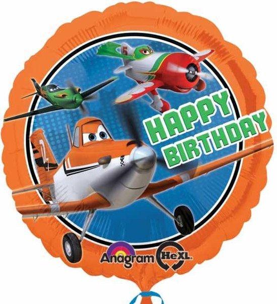 Planes Happy Birthday Ballon 46cm