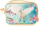 Toilettas Pegasus - Toilettas vliegend Paard - Kinder Toilettas - 24 x 16 x 9 cm