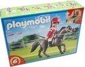 Playmobil Arabisch Renpaard met Paardenbox - 5112