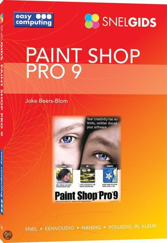 Snelgids Paint Shop Pro 9 - Joke Beers-Blom |