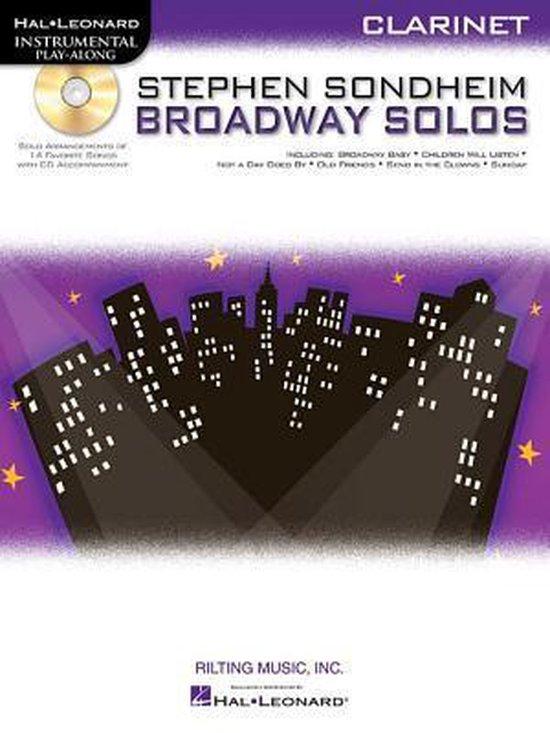 Stephen Sondheim Broadway Solos - Clarinet