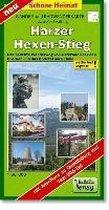 Harzer-Hexen-Stieg Radwander- und Wanderkarte 1 : 30 000