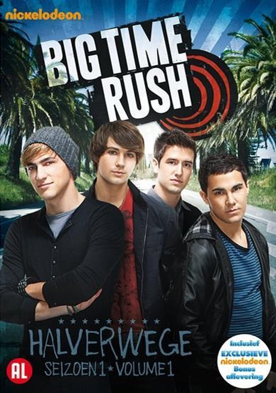 Cover van de film 'Big Time Rush'