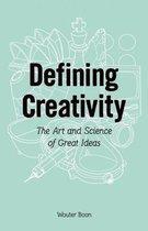 Defining creativity