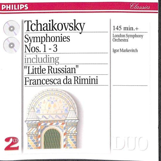 Tchaikovsky: Symphonies nos 1-3 / Markevitch, London SO
