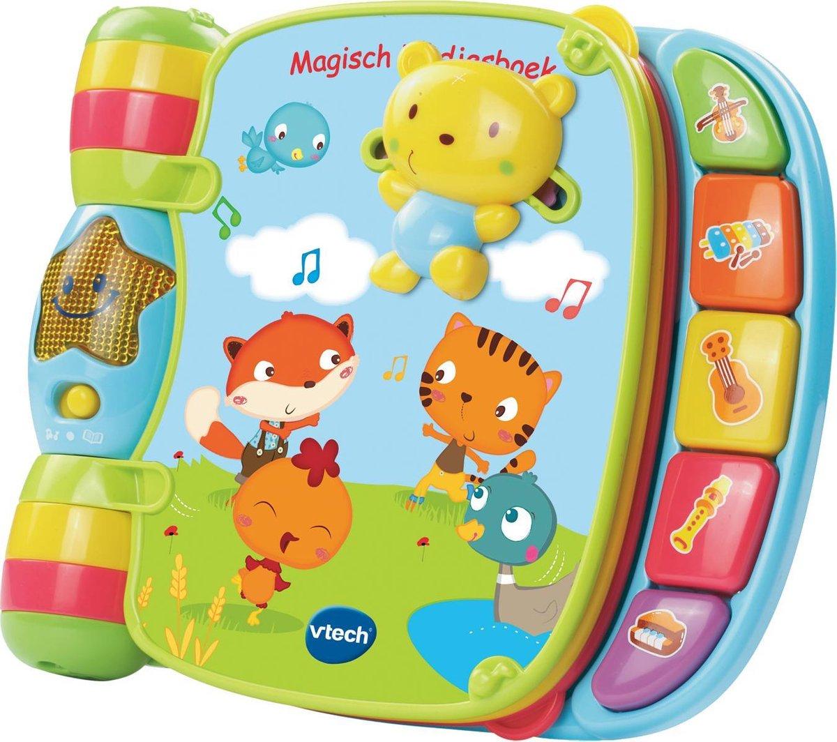VTech - Baby Magisch Liedjesboek - Educatief Babyspeelgoed - 6 tot 36 maanden