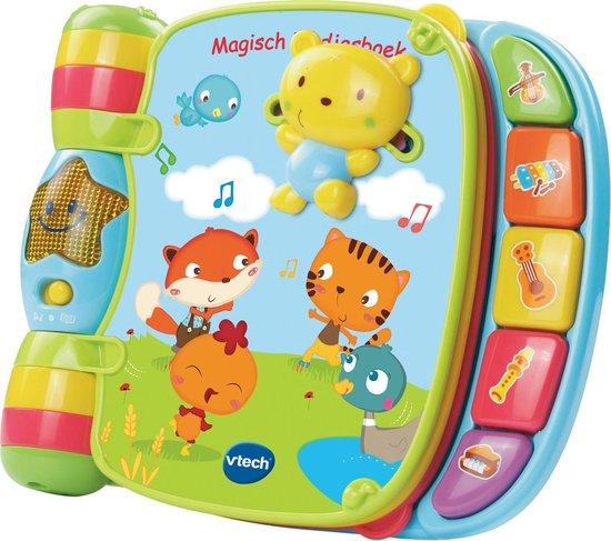 Afbeelding van VTech Baby Magisch Liedjesboek Blauw - Interactief Muziekboek speelgoed