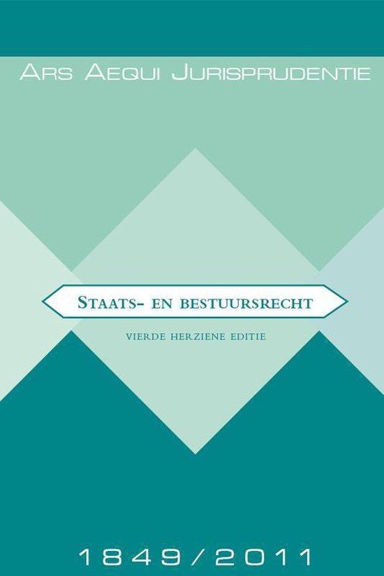 Staats- en bestuursrecht Jurisprudentie 1849-2011 - A.J. Bok  