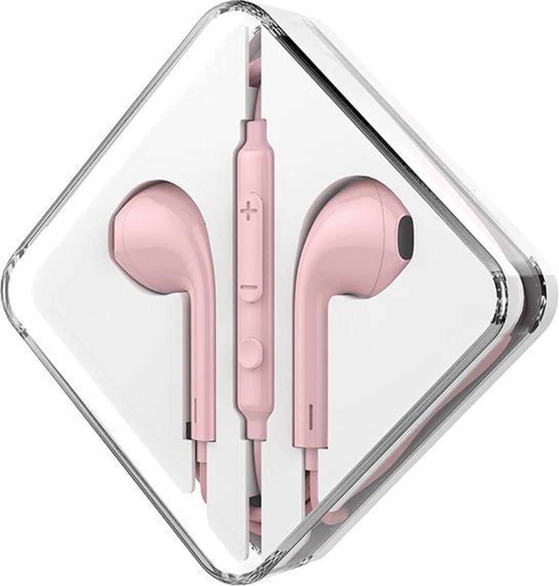 HOCO M55 Memory Sound In-Ear Oordopjes roze