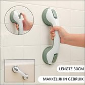 Zuignap Handgreep Badkamer - Douche Handgreep Met Zuignap - Veiligheidsgreep - Helping Hand Handvat