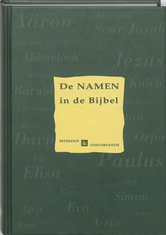 De Namen In De Bijbel - Diverse auteurs | Fthsonline.com