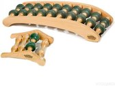 Rolastretcher en Neckstretcher Combi deal rugstretcher en nekstretcher voor drukpuntmassage en rugmassage