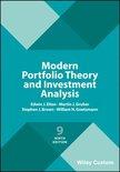 Modern Portfolio Theory and Investment Analysis 9E