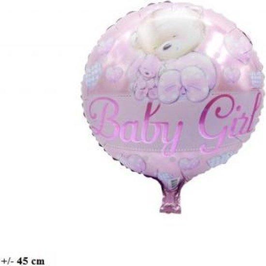 (folie)ballon baby girl