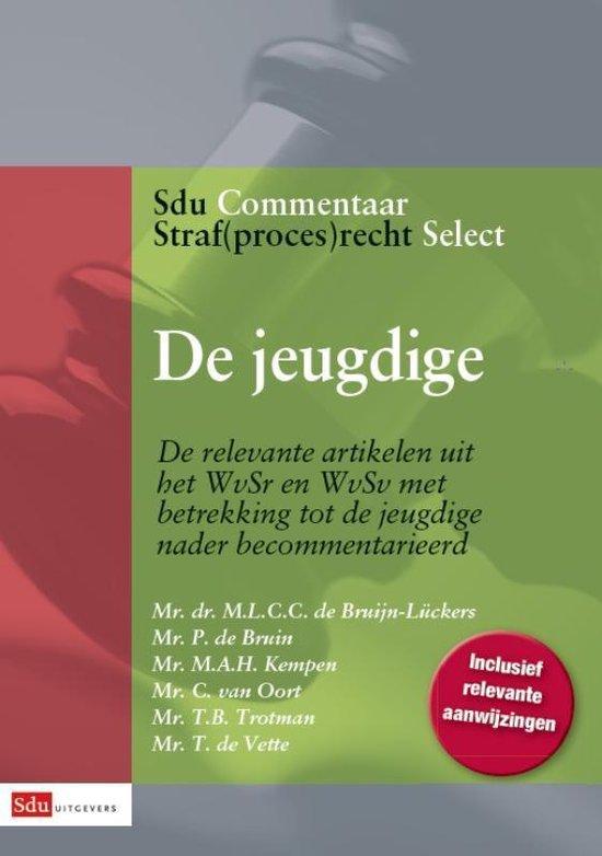 Sdu Commentaar Straf(proces)recht Select 2 - De jeugdige - P. de Bruin |