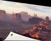 The Hunt's Mesa Amerika Tuinposter 120x80 cm - Tuindoek / Buitencanvas / Schilderijen voor buiten (tuin decoratie)