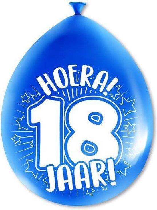 Paperdreams cijferballonnen - 18 jaar