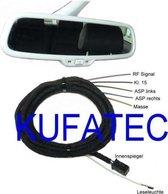Automatisch dimmende binnenspiegel - Harness - Audi A4 B7 A4 B6 A4 8H Cabrio