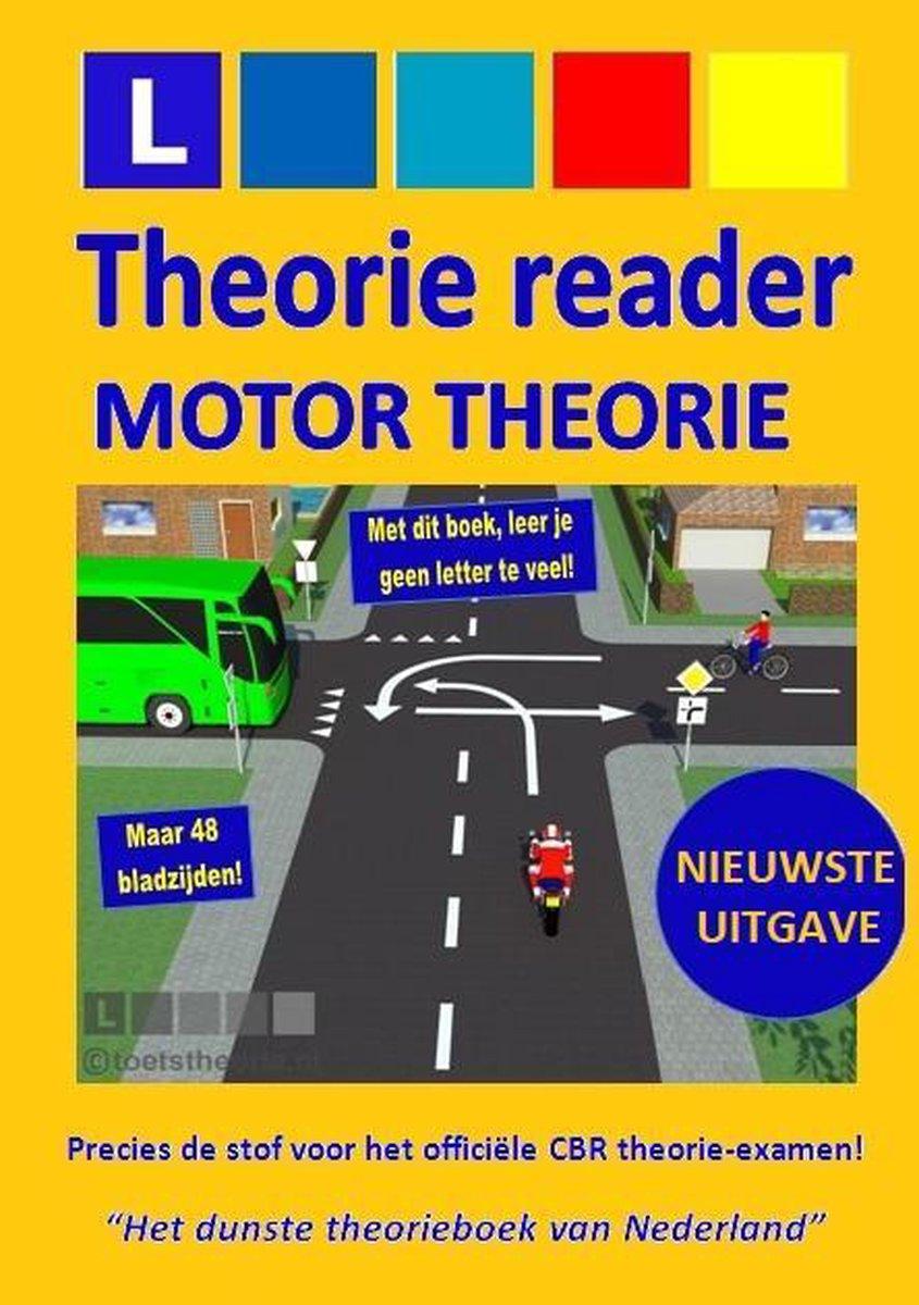 Theorie Reader MOTOR (A) 2021 - motor rijbewijs - motortheorie