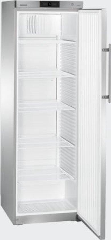 Koelkast: Liebherr GKv 4360 - Kastmodel koelkast - RVS, van het merk Liebherr