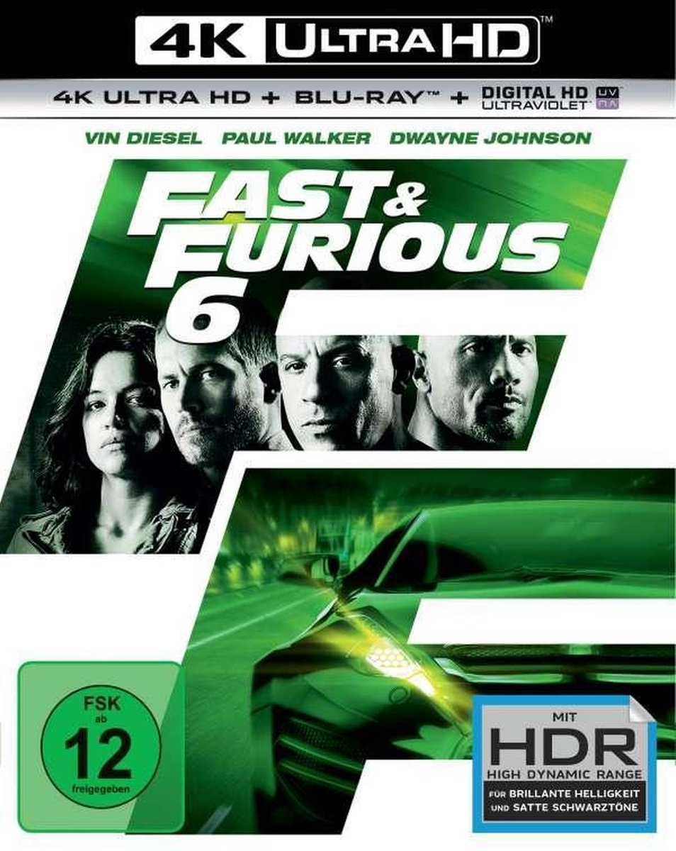 Fast & Furious 6 (Ultra HD Blu-ray & Blu-ray)-