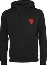 Godfather rose hoody in kleur zwart maat XL