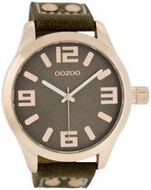 OOZOO Timepieces Polshorloge - C1158 - Taupe - 46 mm