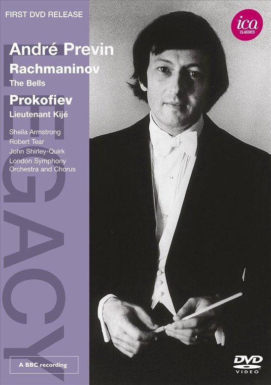 Cover van de film 'André Previn - Conducts Rachmaninov & Prokofiev'