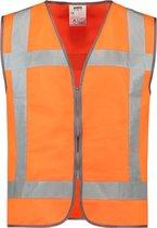 Tricorp Veiligheidsvest RWS met rits - Workwear - 453009 - Fluor Oranje - maat XL