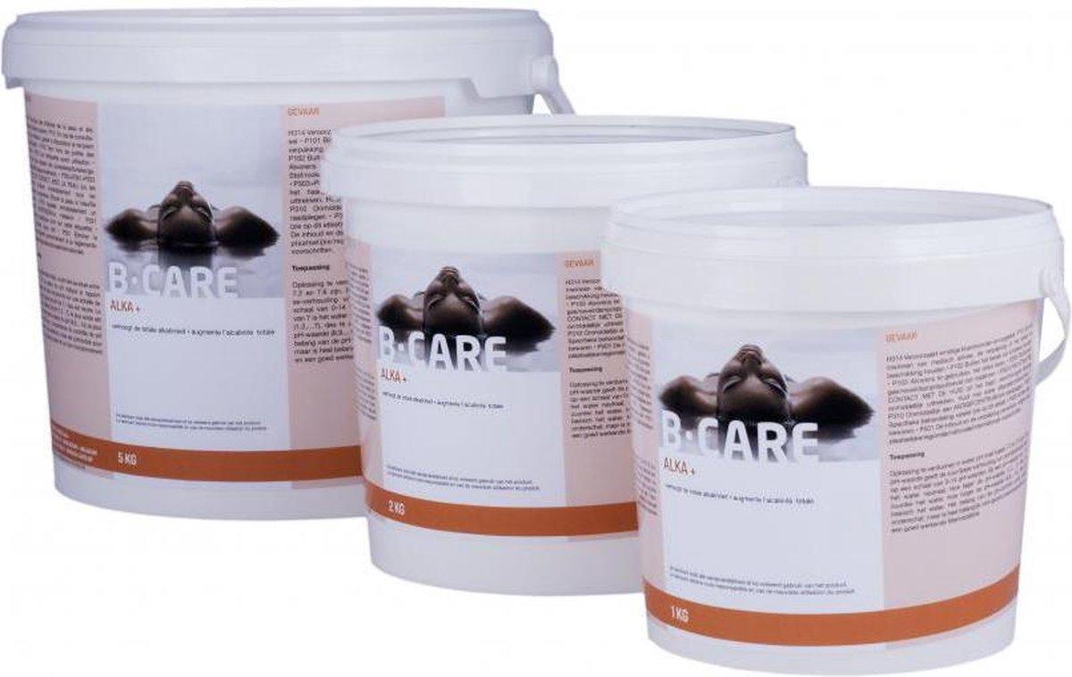 Alka + / TAC + 1kg : Poedervorm : verhoogt de alkaliniteit van het zwemwater