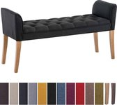 Clp Cleopatra Chaise longue - Stof - donkergrijs antiek donker