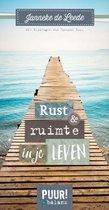 PUUR! in balans  -   Rust en ruimte in je leven