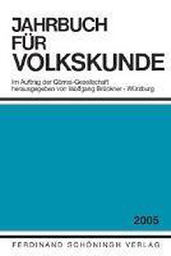 Jahrbuch für Volkskunde 2005