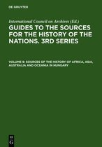 Sources of the History of Africa, Asia, Australia and Oceania in Hungary