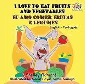 I Love to Eat Fruits and Vegetables: English Portuguese Bilingual Children's Book