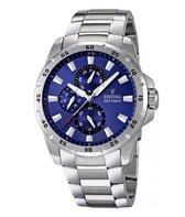 Festina F16662/4 horloge heren - zilver - edelstaal