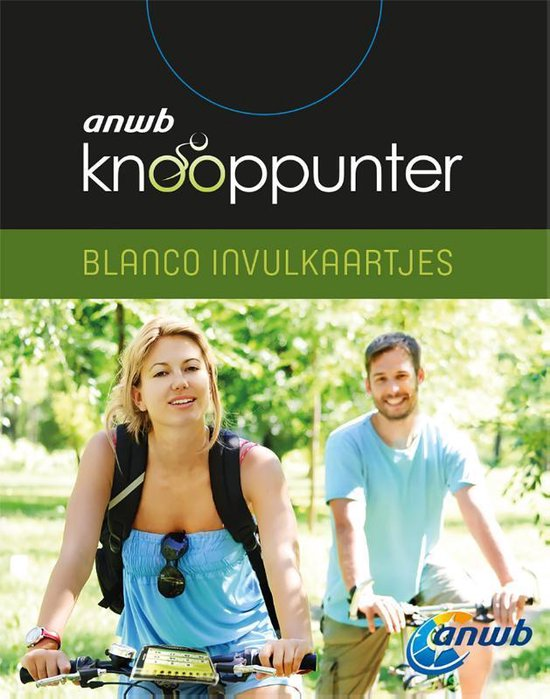 ANWB Knooppunter (blanco invulkaartjes) set 4 exemplaren - ANWB | Fthsonline.com