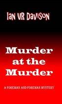 Omslag Murder at the murder