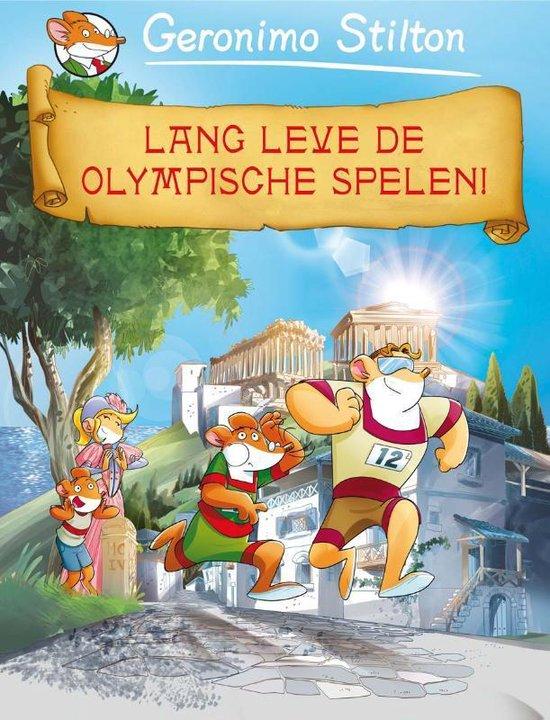Een reis door de tijd 8 - Lang leve de Olympische Spelen! - Geronimo Stilton |