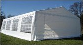Classic Plus Partytent PVC 4x8x2 mtr in Wit